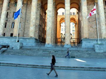 Il parlamento di Tbilisi