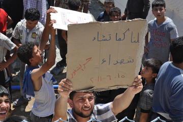 Proteste dei profughi