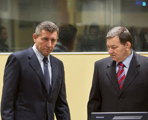 Gotovina e Markac (foto ICTY)