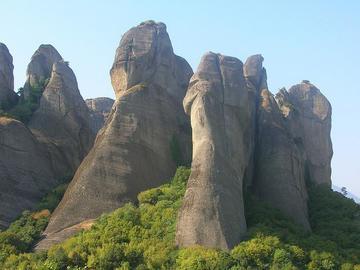 Le meteore, nord della grecia, foto di Ciccioz - Flickr.com