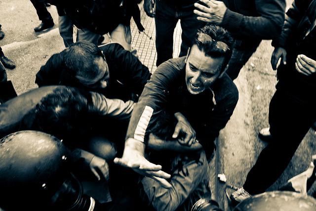 Proteste anticrisi ad Atene - odysseasgr/flickr