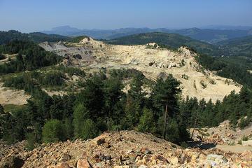 La miniera di Rosia Montana (foto di bortecristian)