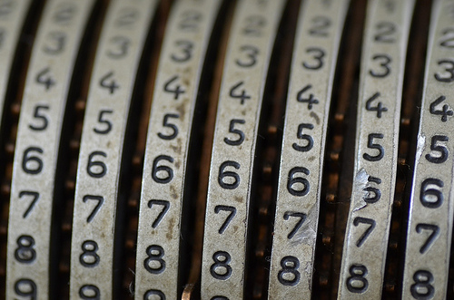 Numeri (flickr/caramel)