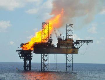 Piattaforma petrolio