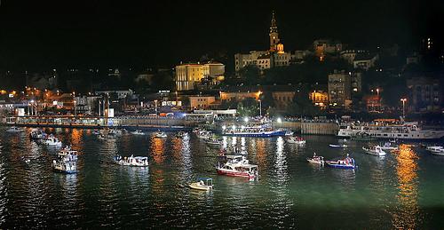 Il porto di Belgrado
