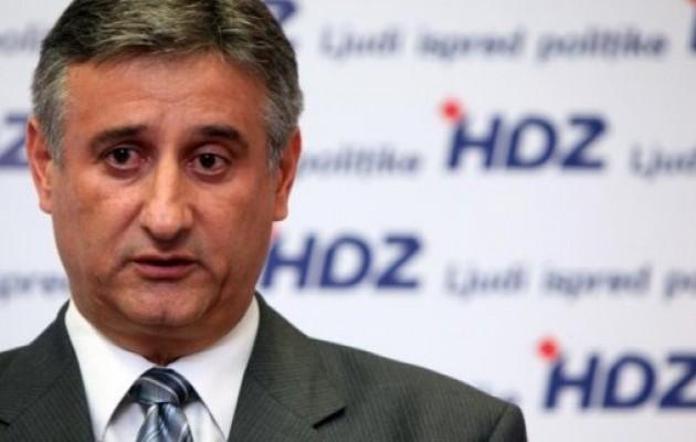 Il nuovo capo dell'HDZ Tomislav Karamarko