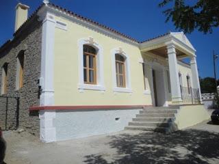 La rinnovata scuola elementare di Imvro