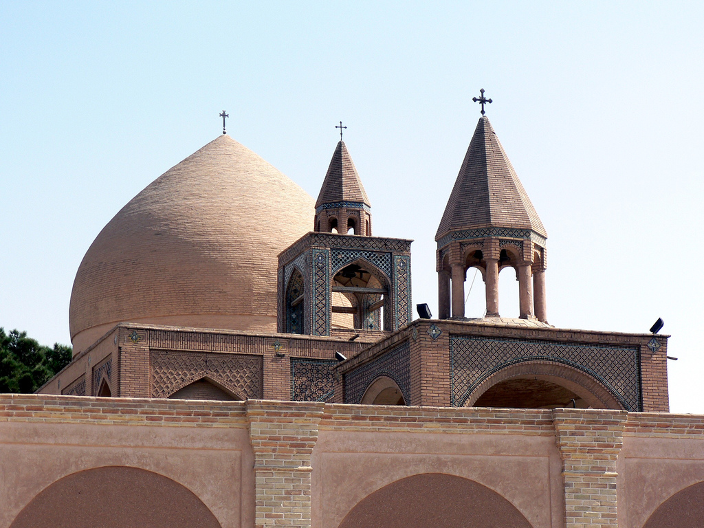 Cattedrale armena a Isfahan, Iran