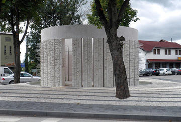 Kozarac, Republika Srpska, the monument to Bosniak victims