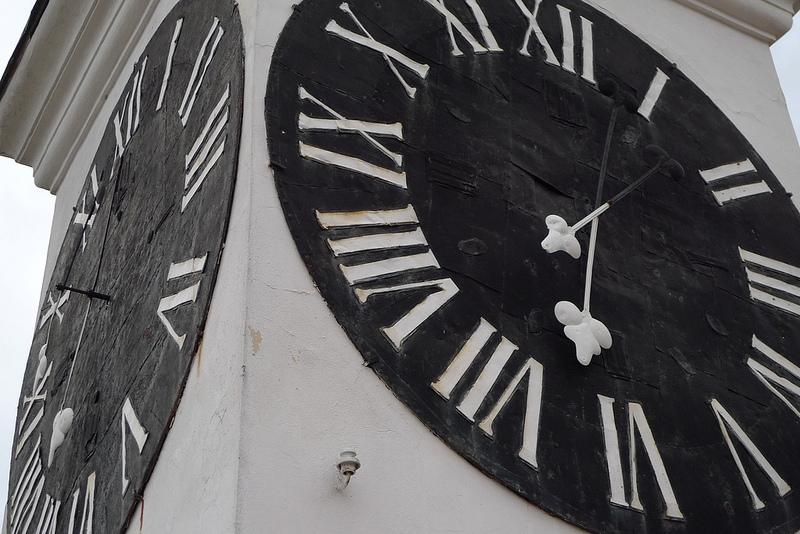 L'orologio di Petrovaradin (foto Patrick Donovan)