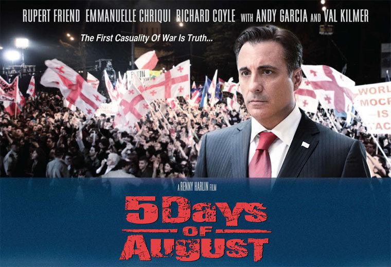 """Andy Garcia recita Mikheil Saakashvili in """"5 days of August"""""""