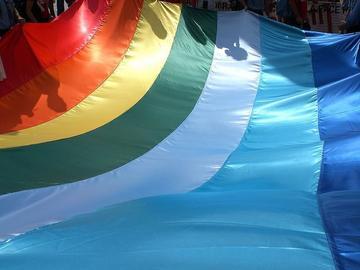 Bandiera della Pace, foto di Tom Luckytom - Flickr. com