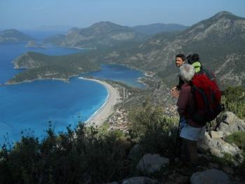 Panorama della costa Olu Deniz, di Alessandro Vergari