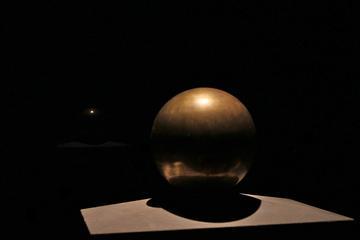 L'urna sferica (foto Gian Paolo Sammarco)