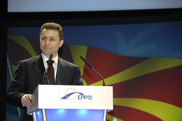 Nikola Gruevski, leader della VMRO DPMNE