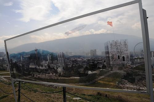 """La fortezza """"Kale"""" di Skopje"""