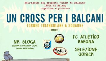 Cross per i Balcani - locandina