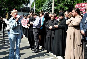 Manifestazioni contro la legge sulle discriminazioni, Chişinău (foto: Tatiana Etco)