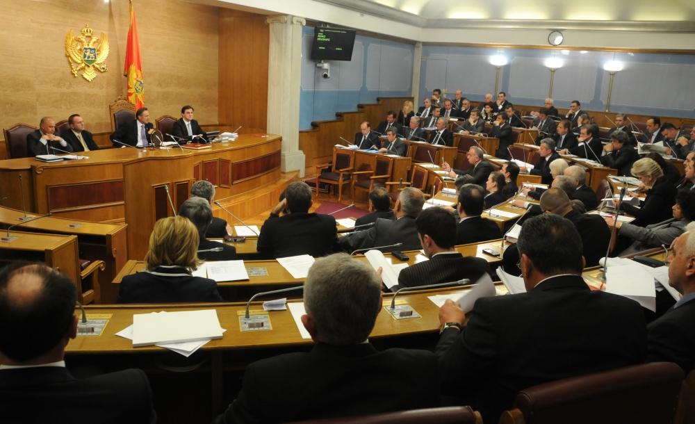 Parlamento montenegrino (foto Vijesti)
