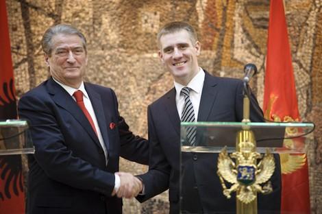 Sali Berisha e Igor Lukšić