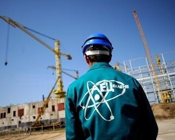 Sul sito della centrale atomica di Belene, Bulgaria