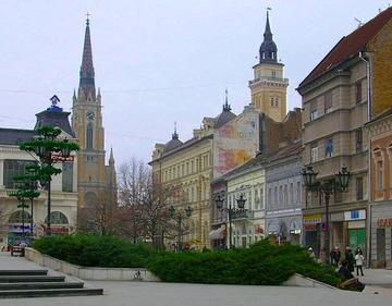Vista su Novi Sad, foto di P.Medved