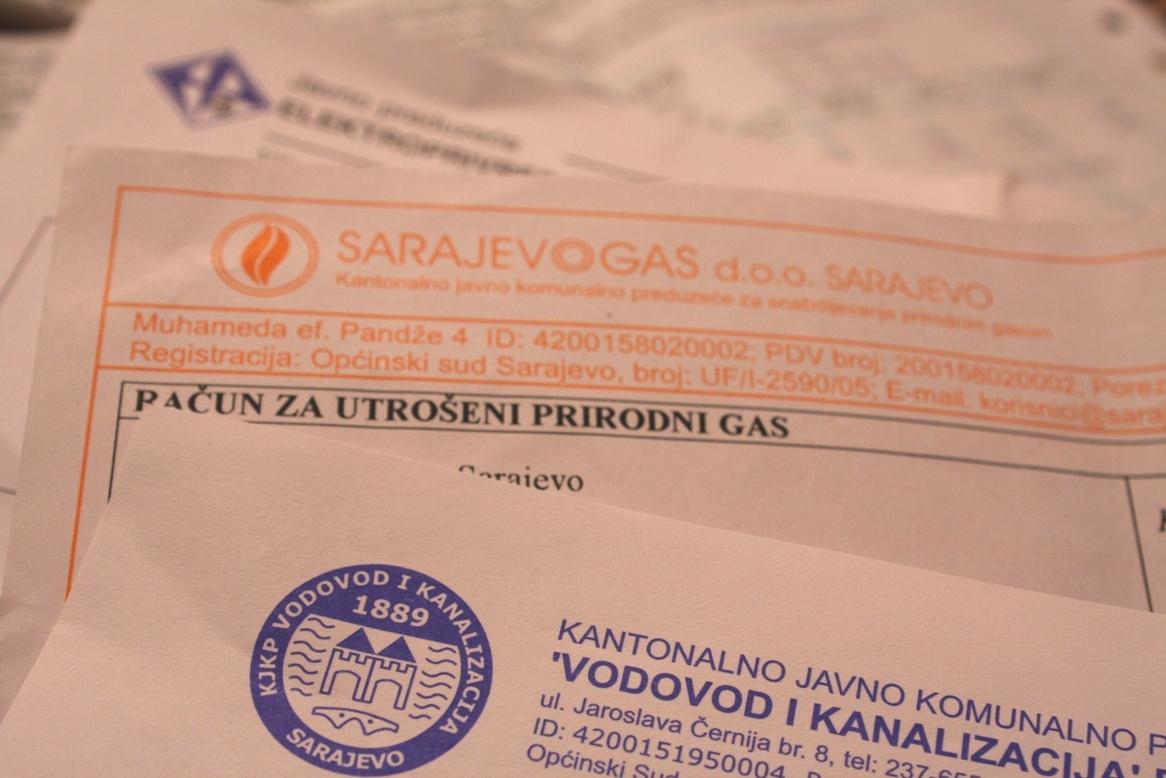 Bollette di luce e gas a Sarajevo (Foto Michele Biava)