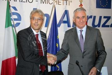 Nikola Dobroslavić e Gianni Chiodi