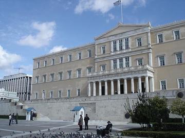 Il Parlamento greco, foto di Nrares - Flickr.com