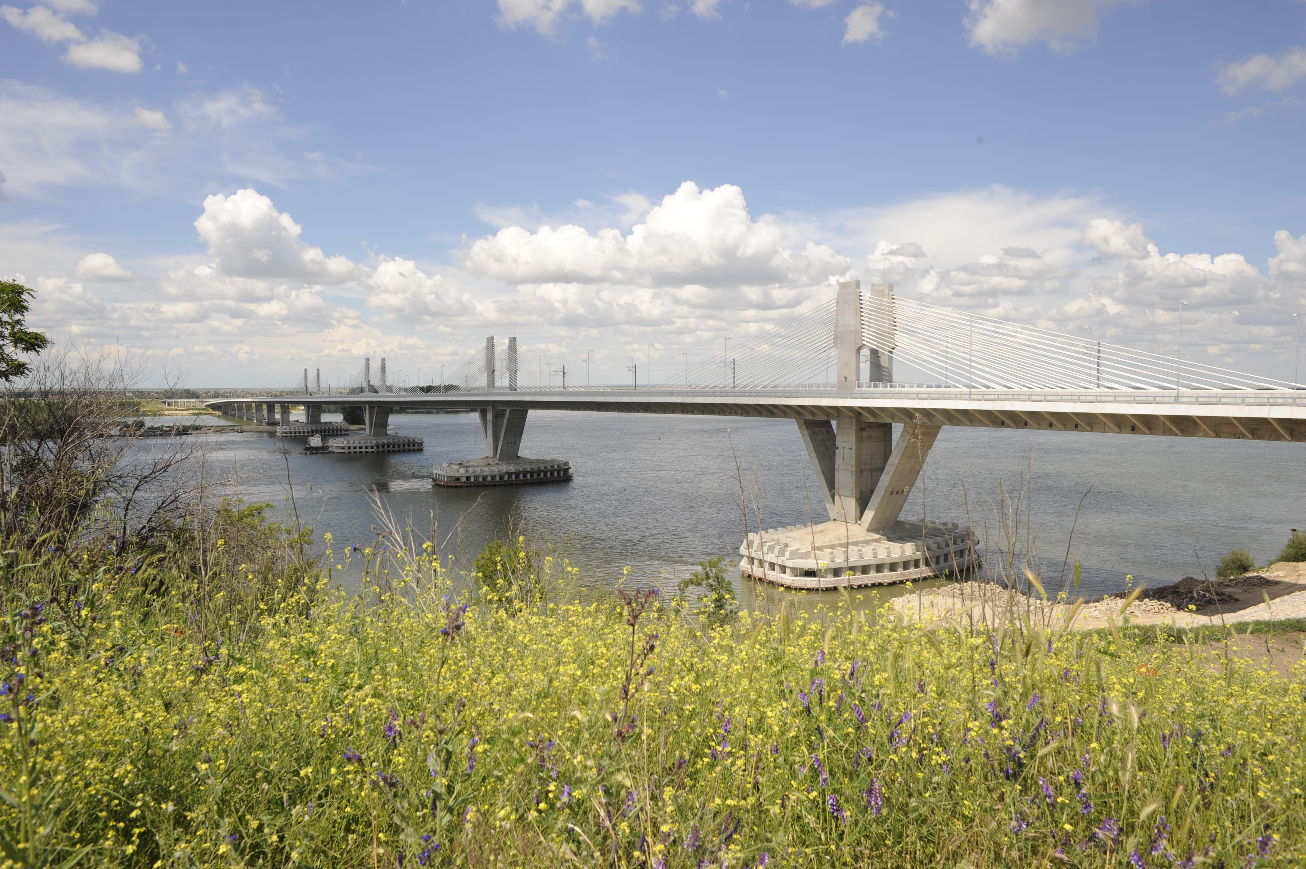 Il ponte sul Danubio tra Vidin e Calafat