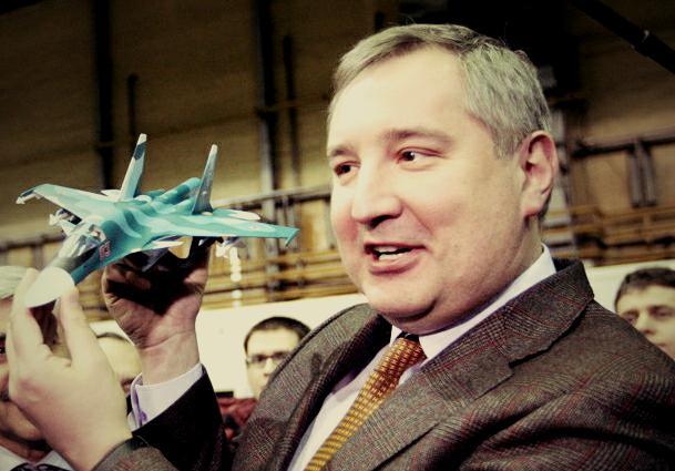 Il vicepremier russo Rogozin (dal web)