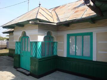 Traditional home in Buruineieşti (Photo C. Bezzi)