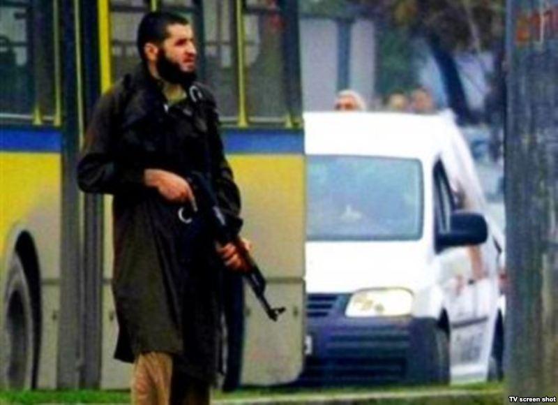 Sarajevo - immagine tv dell'attentatore Mevlid Jašarević