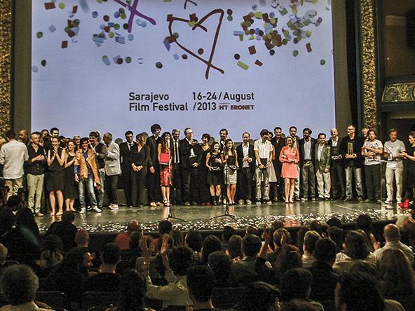La premiazione del SFF 2013