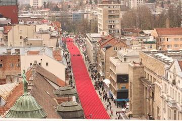 Sarajevo, 6 aprile. Fiume rosso - foto di Michele Biava