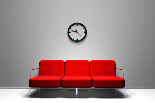 Waiting room / foto Shutterstock