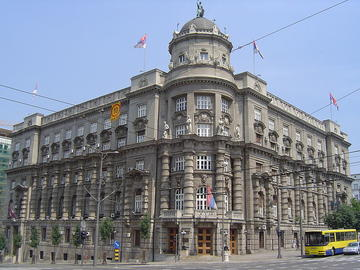 Sede del governo serbo a Belgrado (foto Matija)