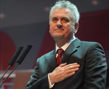 Tomislav Nikolic, leader del SNS