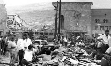 Skopje dopo il terremoto del 1963