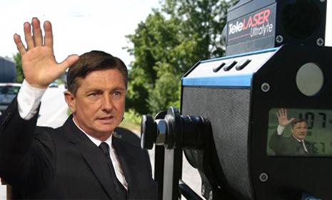 Borut Pahor, fotomontaggio