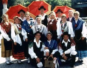 Un gruppo di musica tradizionale slovena