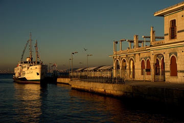 On the Büyükada pier