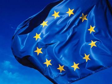 Bandiera europea, foto di Rock Cohen - Flickr.com