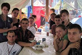 """Membri della """"Lega della gioventù russa"""" (Moldavia)"""