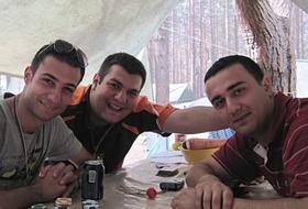 Partecipanti a Seliger (Armenia)