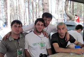 Partecipanti a Seliger (Inguscezia)
