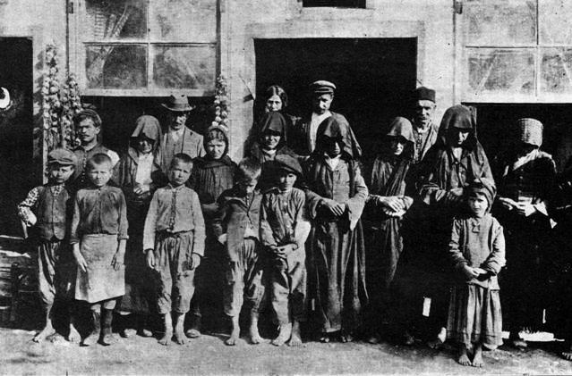 Rifugiati bulgari provenienti dal villaggio di Bulgarkoy - 1913