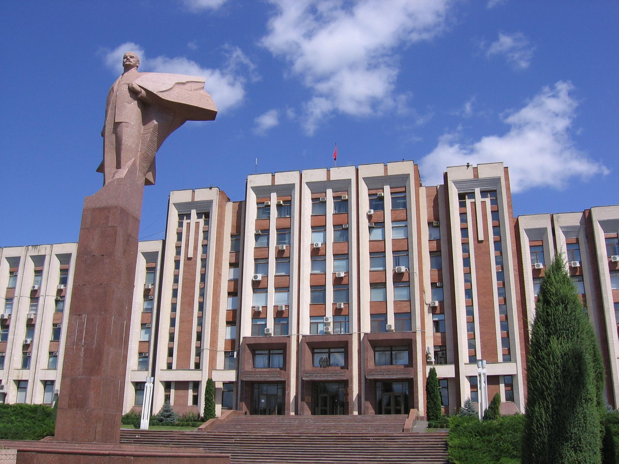 Tiraspol, sede del governo