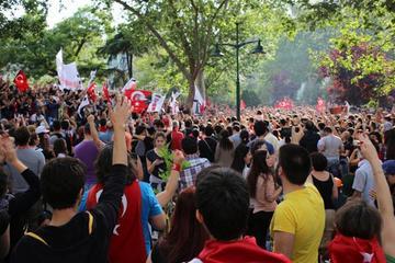 Parco Gezi, Piazza Taksim - foto di Arzu Geybullayeva per Obc