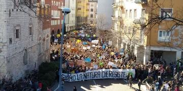 Global Strike 2019, Trento (ph. Antonia Palombella)